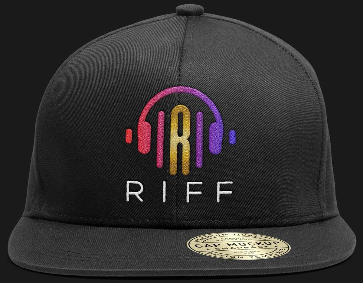 Headphones Logo Front